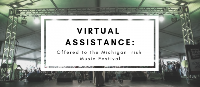 LongerDays offers Virtual Assistance to Michigan Irish Music Festival
