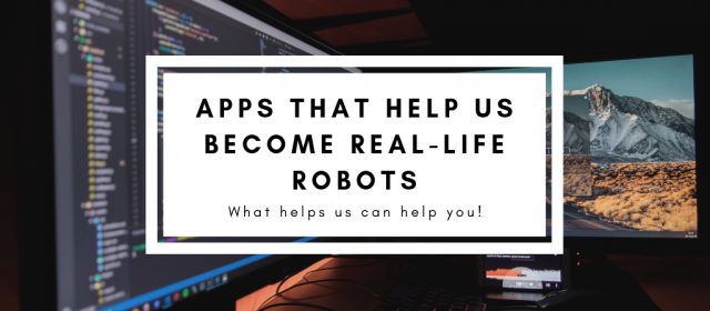 Apps That Help Us Become Real-Life Cyborgs