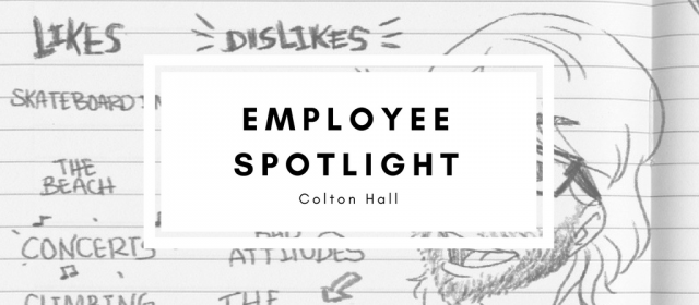 Employee Spotlight: Colton Hall
