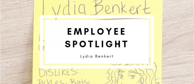 Employee Spotlight: Lydia Benkert