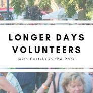 Volunteering for Parties in the Park