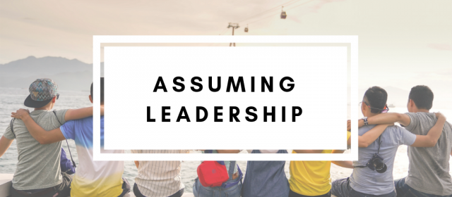 Assuming Leadership