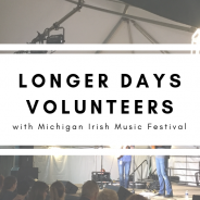 Volunteering with Michigan Irish Music Festival
