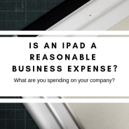 Is an iPad a Reasonable Business Expense?