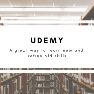 Udemy: A Great Way to Learn New Skills