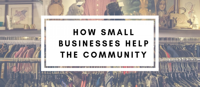 How Small Businesses Help The Community